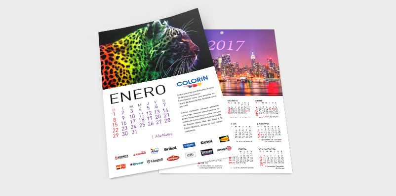 Calendario Lámina
