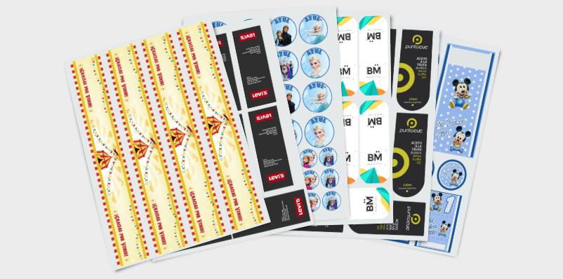 Stickers hasta 6 cm2
