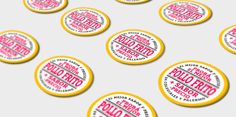 Stickers más de 6 cm2